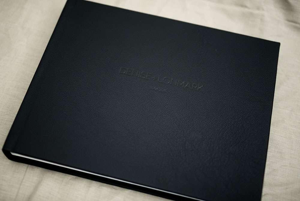 Classic Black Leather Wedding Album Wedding Albums