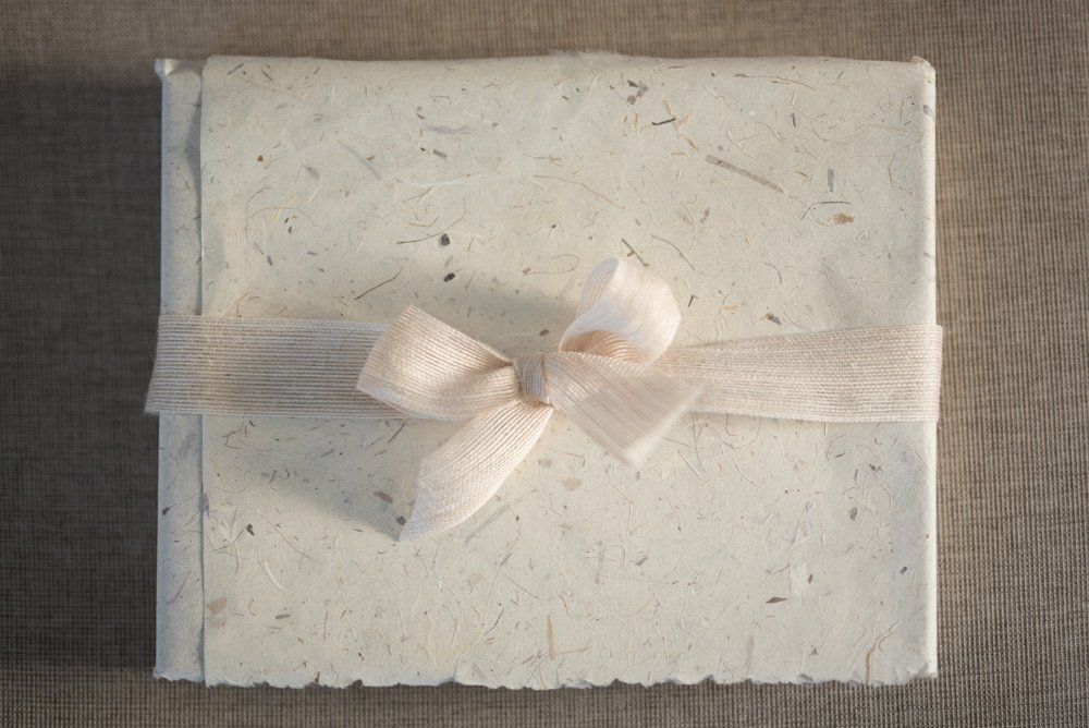 Fine Art Wedding Album with a Natural Linen Cover & Gold Foil Embossing & Name Personalisation | Print your photos in albums | country weddings | The Coffee Table Book & Wedding Albums | Sydney | Melbourne | Brisbane | Adelaide | Tasmania | Perth | Australia