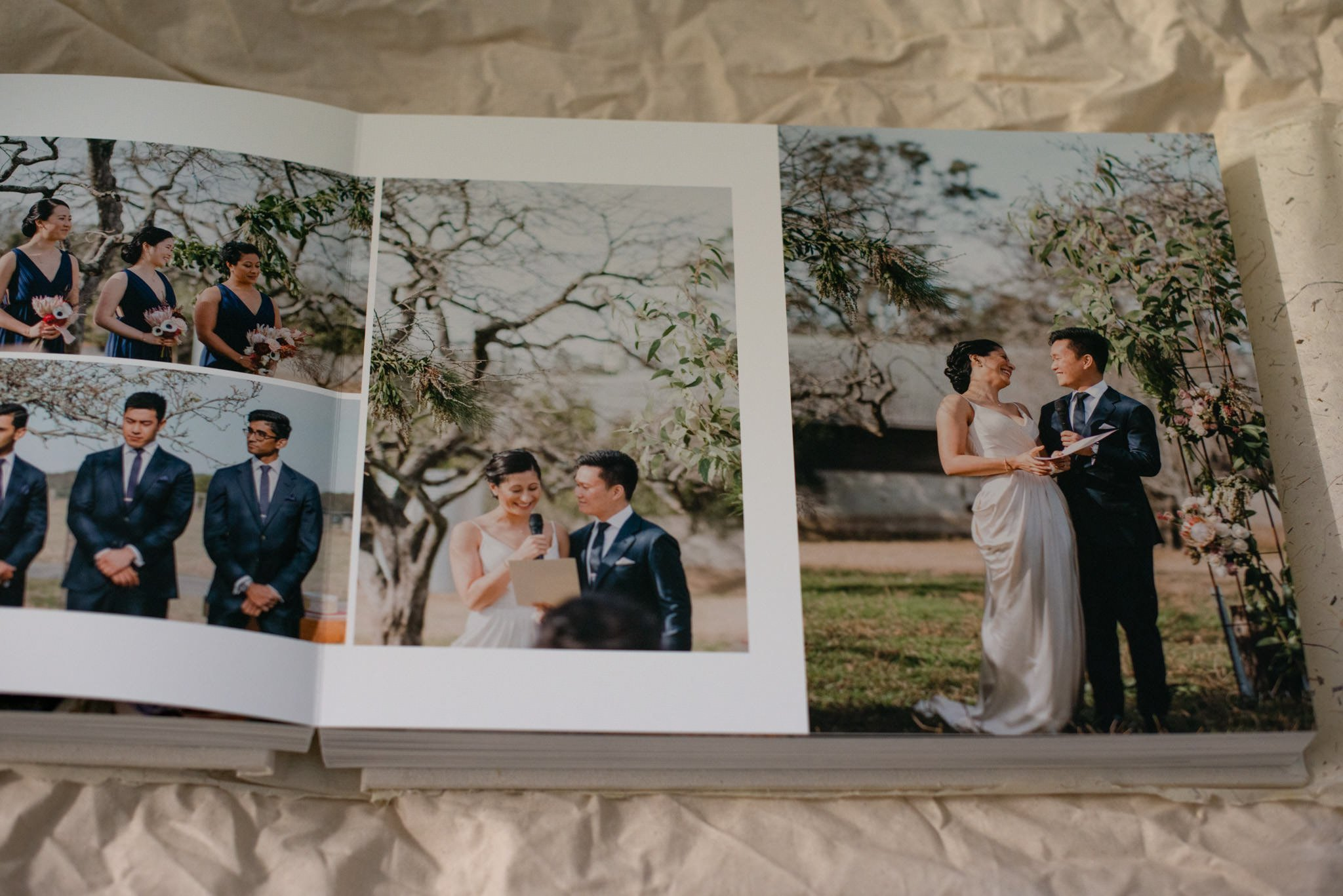 Wedding Photo Albums & Books - Layflat Photo Albums, Leather Covered Albums, Linen Covered Albums, Silk Covered Albums